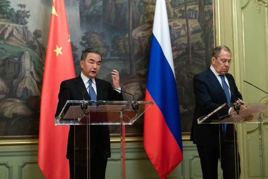 Sino-Russian ties vital amid turbulence, FM stresses